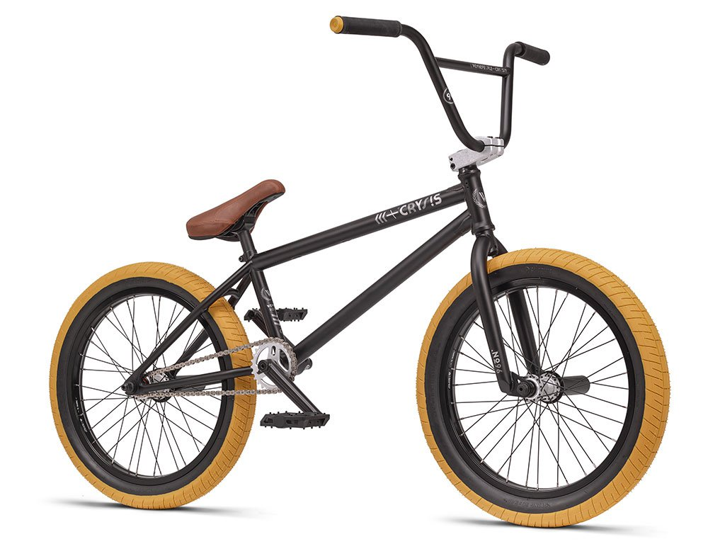 Wethepeople crysis 2016 bmx bike matt black for Bmx store