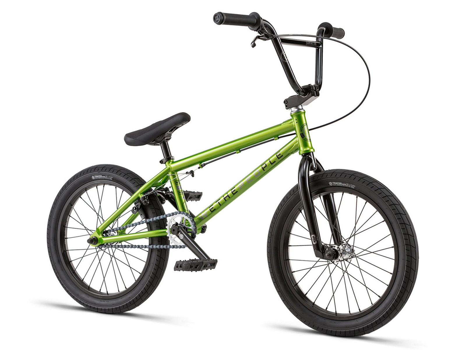 wethepeople curse 18 2018 bmx bike 18 inch mettalic. Black Bedroom Furniture Sets. Home Design Ideas