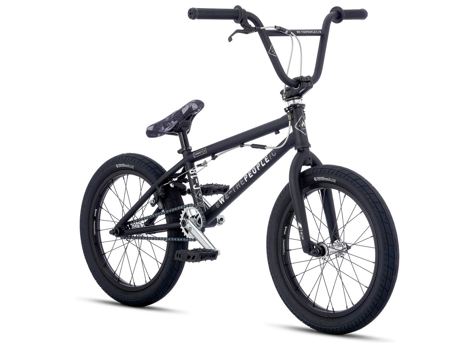 wethepeople curse fs 18 2017 bmx bike 18 inch matt. Black Bedroom Furniture Sets. Home Design Ideas