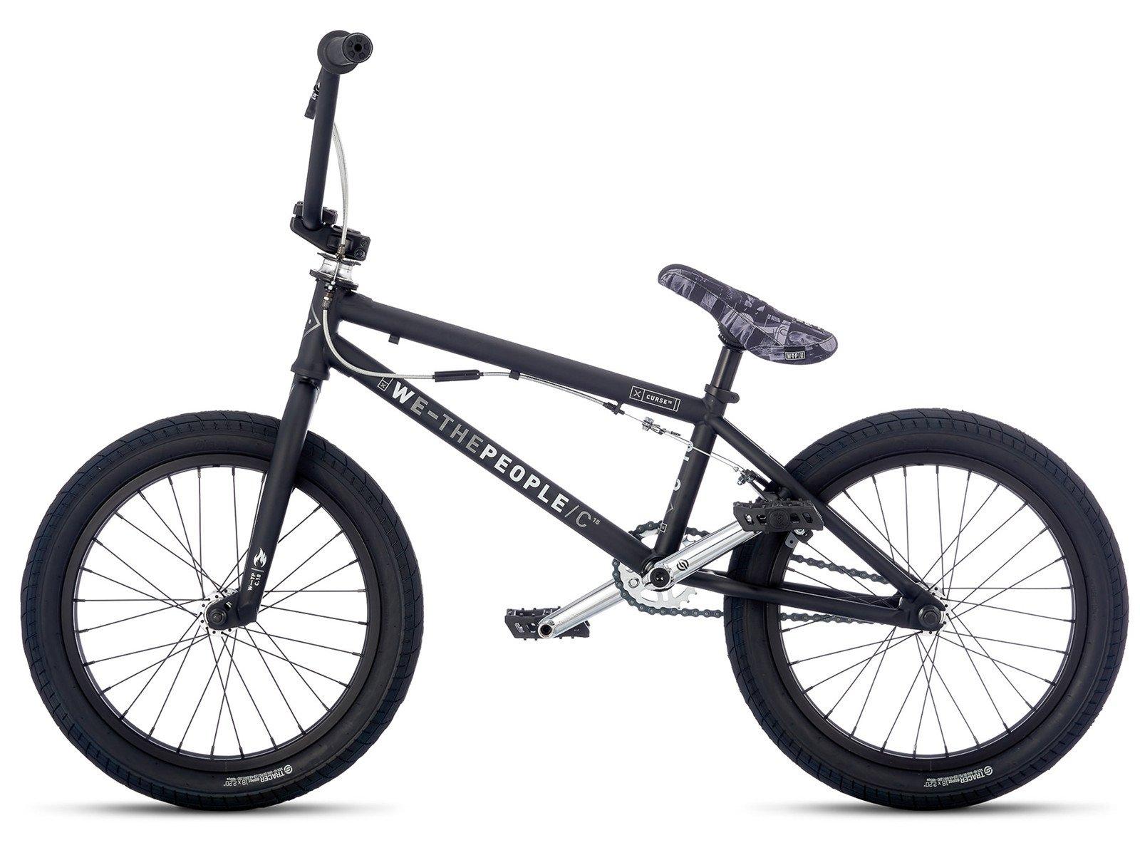 Wethepeople Quot Curse Fs 18 Quot 2017 Bmx Bike 18 Inch Matt