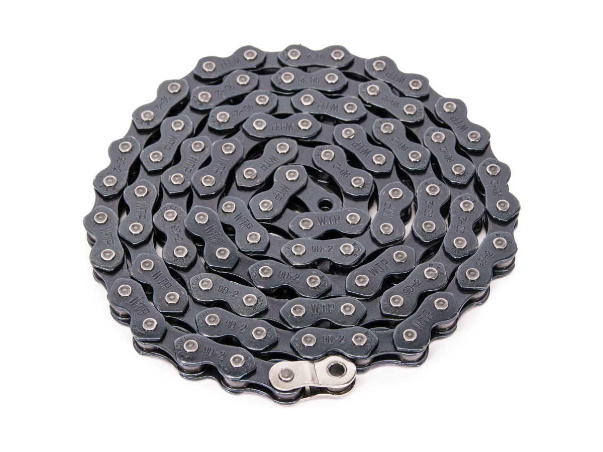 """1//2 LINK FIT SHADOW SUBROSA SE HARO BLACK RANT MAX 410 BMX BICYCLE CHAIN 1//8/"""""""
