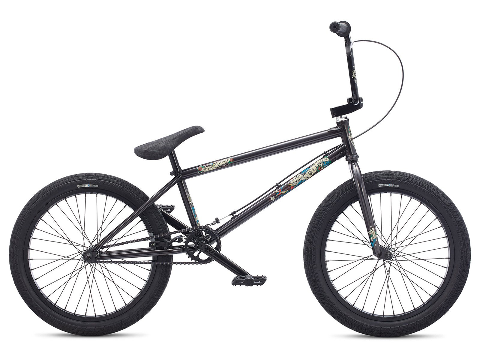 Wethepeople volta 2017 bmx rad translucent black for Bmx store